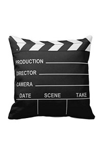 Lights Camera Action Pillow