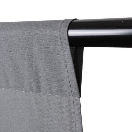 خلفية تصوير قماش لون رصاصي مقاس 3x3 مع استاند حامل للخلفيات
