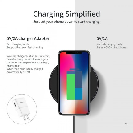 HOCO CW6 Wireless Charger Qi
