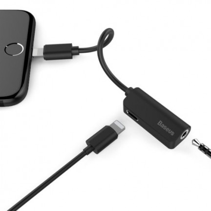 Baseus L32 8 Pin to 3.5mm Audio Adapter for iPhone
