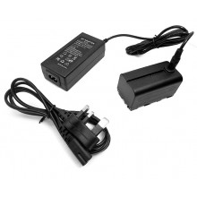 Power Adapter Plus NP-F750 Dummy Battery Replace NP-F970 F550 F570