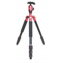 Fotopro C4i Tripod with ball head - red