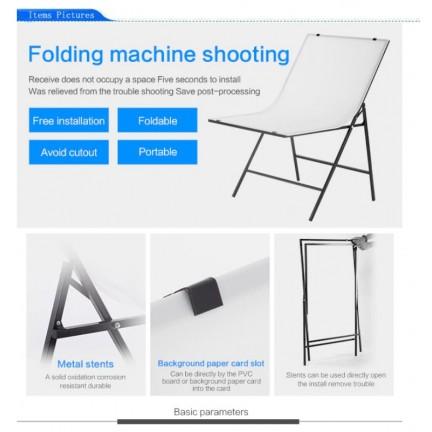 60*100cm Folding Portable Shooting Table Photo