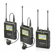 Saramonic UHF Wireless Microphone - UwMic9(RX9+TX9+TX9