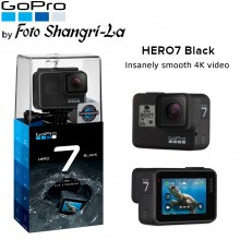 GoPro Hero 7 Black / Hero7 Black 4K Video Action Camera 12MP Waterproof 10 Met
