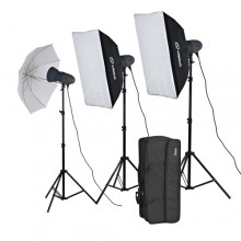 Visico 900ws studio light kit 3x300ws