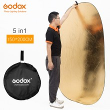 Godox 150*200cm 5 in 1 portable photography reflector
