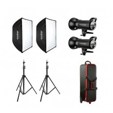 GODOX SK-300 II Studio Flash Softbox Kit