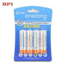enelong AA 2100 mAh 1.2V Rechargeable Ni-MH Battery 4-Pack