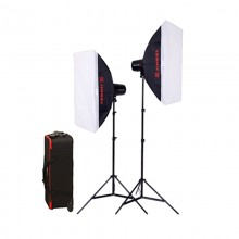 Jinbei Delicacy 250W x2 Studio Lighting Kit