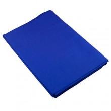 خلفية قماش ازرق بدون استاند مقاس عرض 3 طول 6 متر