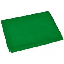 خلفية قماش اخضر بدون استاند مقاس عرض 3 طول 6 متر