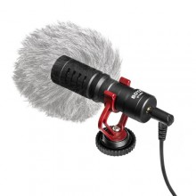 BOYA BY-MM1 Shotgun Microphone for Smartphone and Cameras