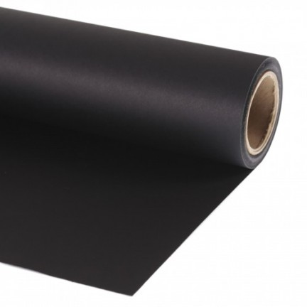 background Paper 2 x 11m Black