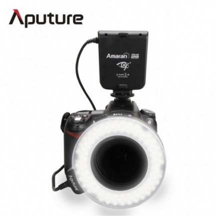 Aputure AHL-HN100 Amaran Halo LED Ring Flash for Nikon Cameras