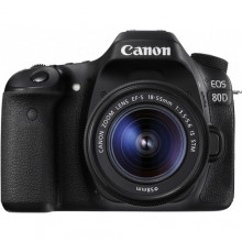 Canon EOS 80D with 18-55mm