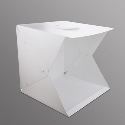 Folding Studio Diffuse Soft Box With LED 40cm