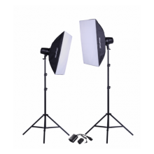 NiceFoto Studio kit 2x180Ws