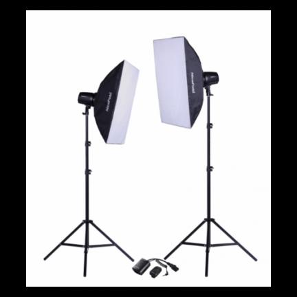 NiceFoto Studio kit 2x180Ws