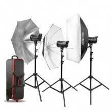 Godox DS300 Three light Kit