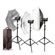 Godox DS300 Three light Kit