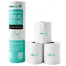 MEMOBIRD Stickers Thermal printing paper 3 rolls