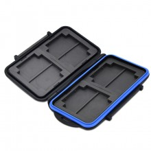 Hard Cases Memory Card Case Holder for 8 x SD SDHC Cards