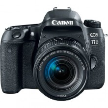 Canon EOS 77D DSLR Camera with 18-55mm