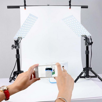 LED Light Kits Small Photo Studio