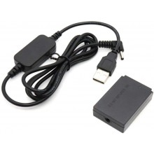 ACK-E12 Mobile Power Bank Charger USB Cable for Canon