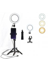 16CM Photography LED Selfie Ring Light