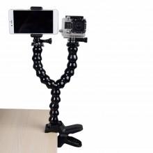 Double-headed Photo Studio Arm Clamp