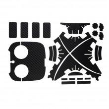 striker 1 Set Waterproof protective Carbon Fiber Decal Skin Sticker For DJI Phantom 3
