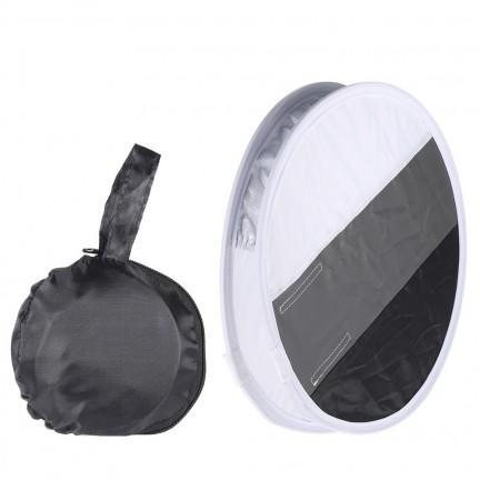 31cm Mini Portable Round On camera Flash Diffuser