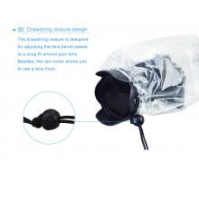 JJC Camera Raincoat Small DSLR with Lens Rain Cover