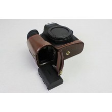 leather half protect for canon 5D3 5D Mark III 5DS 5D Mark 4
