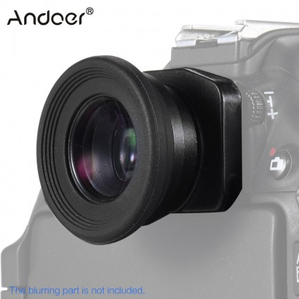 Andoer 1.51X Fixed Focus Viewfinder Eyepiece Eyecup Magnifier Lens