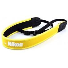 Nikon Yellow Camera Strap