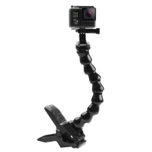 Jaws Flex Clamp Mount with Adjustable Neck for Gopro Hero5 /6/7/8