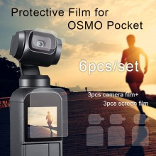 DJI OSMO Pocket Screen Film Camera Lens Protective Film