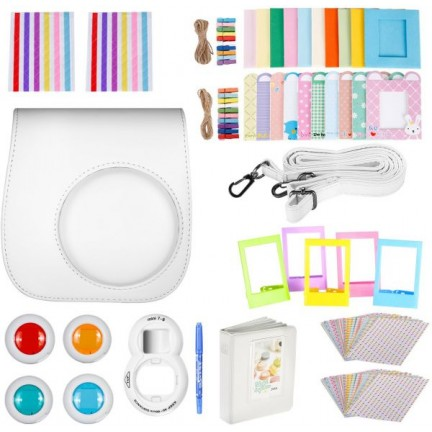 Instax Mini8 Camera accessories kit White