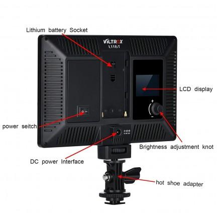 VILTROX L116T RA CRI95 Super Slim LED