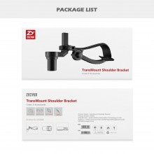 Zhiyun Crane 2 Gimbal Accessories TransMount Shoulder Bracket