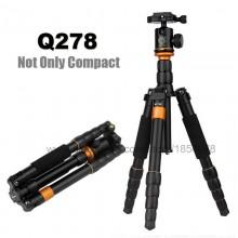 QZSD Q278 Lightweight Compact Tripod Monopod