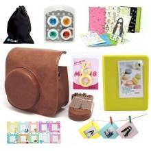 Instax Mini8 Camera accessories kit Brown