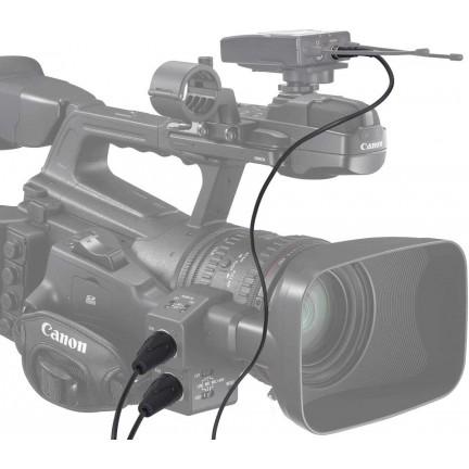 Cable XLR de salida de doble Cabezal para salida estéreo (comica)