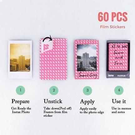 Instax Mini8 Camera accessories kit Rose