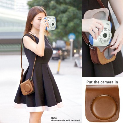 Instax Mini8 Camera accessories kit Brown